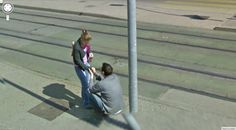 Did Google Street View Capture a Swiss Marriage Proposal?