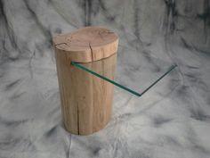 Table de chevet chez www.deco-nature.com