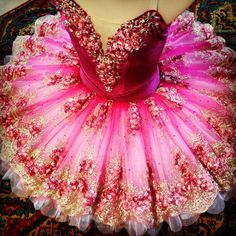 This is like a way way way more detailed version of my ballet costume from last year.I want this tutu D: Ballet Tutu, Ballet Dancers, Ballet Shoes, Pointe Shoes, Ballet Feet, Beautiful Costumes, Beautiful Dresses, Mode Russe, Ballet Russe