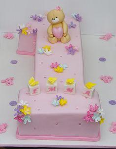 Forever friends bear birthday cake   Koula Kakopieros   Flickr
