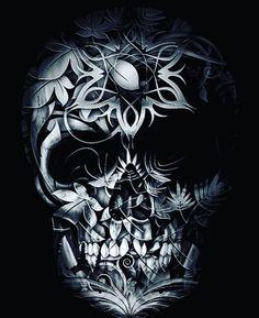 skull artwork / skull art _ skull artwork _ skull art drawing _ skull art dark _ skull art pretty _ skull art tattoo _ skull art wallpaper _ skull art black and white Skull Tattoo Design, Skull Design, Tattoo Designs, Sugar Skull Tattoos, Sugar Skull Art, Sugar Skulls, Mexican Skull Tattoos, Body Art Tattoos, Dark Fantasy Art