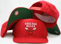 Chicago Bulls Red Snapback Adjustable Plastic Snap Back Hat / Cap by adidas. $19.66. One Size Fits All. Embroidered Logos. Adjustable plastic snapback cap. Officially Licensed.. Make a fashion statement while wearing this retro snapback cap.