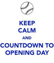That's us.....Opening Day