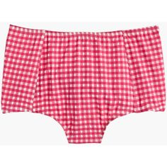 J.Crew High-Waist Bikini Bottom ($49) ❤ liked on Polyvore featuring swimwear, bikinis, bikini bottoms, swim suits, j crew swimsuit, high waisted bikini, swim wear and high rise bikini