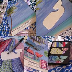 Vineyard vines crafts! Got old VV catalogs hanging around, DIY and make whale decals...Add them to a frame and you'll have a preppy decoration for a bedroom or dorm room! Edsftg