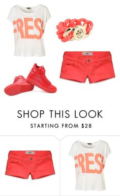"""""""Cool:)"""" by karina-bm ❤ liked on Polyvore featuring Hollister Co. and Marc by Marc Jacobs"""