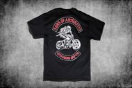 Titanium Chapter Short Sleeve Biker T-Shirt