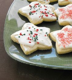 Christmas Cut Out Cookies (the best you'll ever try)