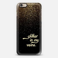 Glitter in my Veins cover available from @Casetify @Casetagram using Instagram - take $10 off using promo code QJ3PX9 - shop here: www.casetify.com/LoveLunchLiftoff