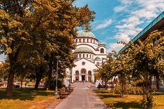 Church of Saint Sava, Belgrade, Serbia (by Chronis Giannakakis) Belgrade Serbia, Taj Mahal, Saints, Europe, Mansions, Architecture, House Styles, Building, Travel