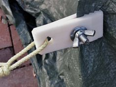 Whether you need to tie down tarps on the trailer, car, camp or elsewhere, nothing grips like these printed tarp clips.
