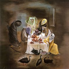 Leonora Carrington- when she meets Varo in Mexico you can see her style change into this dark dream