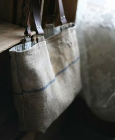 Recycled Linen Tote