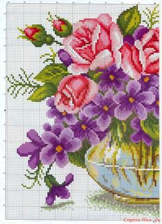 Gallery.ru / Фото #28 - вышивка цветы - semynova