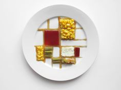 how famous artists would plate their thanksgiving meals