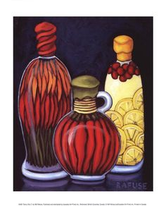 Fancy Oils II by Will Rafuse Poster Print
