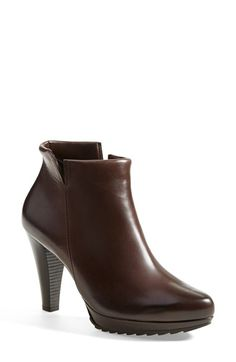 Free shipping and returns on Paul Green 'Alexa' Platform Bootie (Women) at Nordstrom.com. A notched topline and aggressive tread put a street-smart spin on a wardrobe-staple stacked-heel bootie, in sleek semigloss leather.