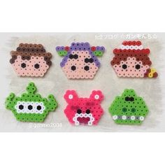 Toy Story perler beads by ganmo2004