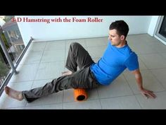 Using foam roller, tennis ball and peanut (2 tennis balls taped together) to massage tight muscle groups