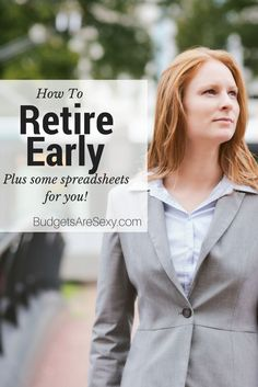 "After being inspired by Jeremy's early retirement story, I decided to sit down and calculate once and for all how long it would take for us to retire early as well.  (And by retire early, I really mean ""be financially independent"" – ie not needing money anymore to survive whether you still want to work or not. In a way I feel like I'm already retired since I'd be #blogging as I am now when officially free http://www.budgetsaresexy.com/2015/02/early-retirement-fi-spreadsheet/"