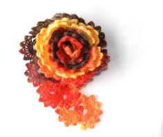 Crochet lace scarf Crochet neck warmer by aboutCRAFTS on Etsy