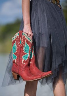 day dreamer boot - red