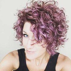 40+ Mejor Corto Rizado //  #corto #mejor #rizado Haga clic para obtener más peinados : http://www.pelo-largo.com/40-mejor-corto-rizado/