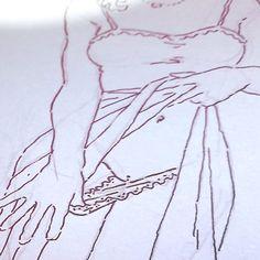 Nacho Casanova #erotic #eroticdrawing #erotique #notebook #sketch #line #lineart #minimal #eroticillustration #ink #nachocasanova #illustration #eroticart #panties #sketchbook