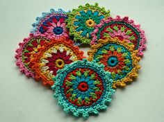 Crochet Motifs, via Flickr.