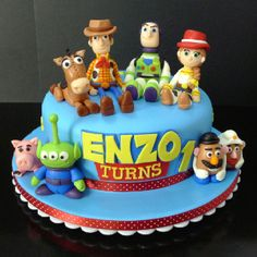 My latest Toy Story cake. Had so much fun making this one.  www.facebook.com/GracieliciousBakeshop