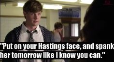 """""""Put your Hastings face and spank her tommorow like I know you can"""" -Andrew Pll Quotes, Pretty Little Liars, I Know, Knowing You, Film, Movie, Film Stock, Pretty Litte Liars, Cinema"""