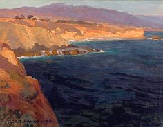 Edgar Payne (1883-1947). Old Laguna, 1911. Oil on Linen. 18 1/4 x 23 1/4.