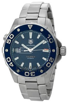 TAG HEUER AQUARACER CALIBRE 5 500M MENS WATCH WAJ2112.BA0870 | eBay