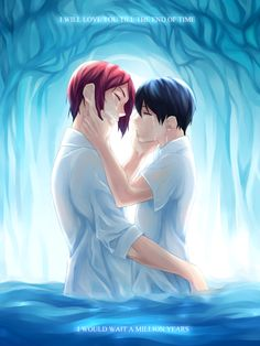 season finale aka I've cried my eyes out while drawing this BGM: Lana Del Rey - Blue Jeans - feel free to remove the text below when you reblog - This is like 5% of what I'm feeling, and I don't think I'll be able to draw every single thing I want to get all this out of my system. Once you rinharu, you'll never be free, I guess, haha. Logically thinking, I understand the ending, the ~future rivalship~, I understand Haru staying in Tokyo, and I'm not saying...