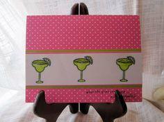 Margarita birthday card by lindsaynspencer on Etsy, $3.25