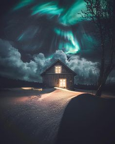 Magical Northern Lights Landscapes by Juuso Hämäläinen #photography #northernlights #landscape #nature #travel