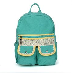 Fashionable backpack, backpack for middle school students, travel package,Computer bag,lace backpack on Etsy, $26.99