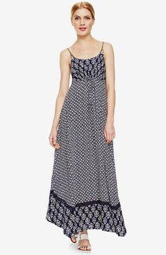 Two by Vince Camuto Mix Print Maxi Sundress available at #Nordstrom