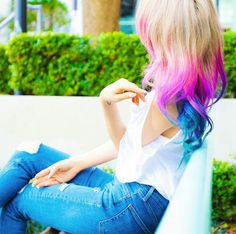 Must. Color. My. Hair. Like. Her. Wengie