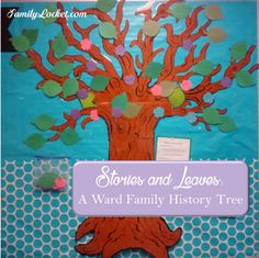 Stories and Leaves: A Ward Family History Tree – Family Locket Devon, Family History Center, Church Bulletin Boards, Motivational Stories, Family Search, Family Genealogy, Photo Memories, Fun Challenges, Finding Joy