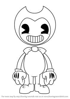 Printable Bendy And The Ink Machine Coloring Pages - Free Coloring Sheets Fnaf Coloring Pages, Coloring Pages For Grown Ups, Cat Coloring Page, Free Adult Coloring Pages, Free Coloring Sheets, Coloring Pages To Print, Free Printable Coloring Pages, Coloring Books, Bendy And The Ink Machine