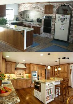 Kitchen Renovation Before And After Riptidehouse Kitchen - Kitchen remodels before and after photos