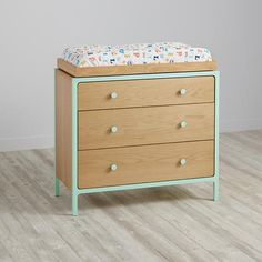 Larkin 3-Drawer Changing Table (Mint)  | The Land of Nod