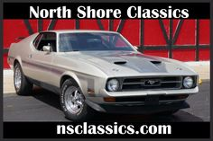 Used 1971 Ford Mustang -MACH 1- 351 CLEVELAND V8/AUTO-SILVER BULLIT-SEE VIDEO | Mundelein, IL