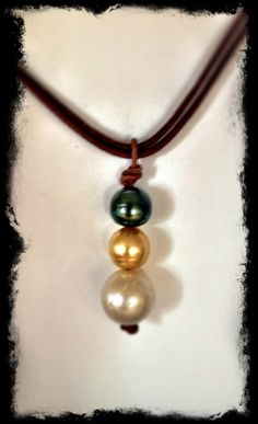 South Sea and Tahitian pearls at Allison Craft Designs  www.AllisonCraftDesigns.com