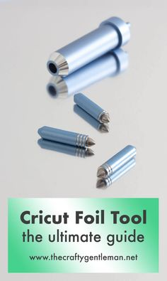 Cricut Foil Transfer Tool: the ultimate guide | Cricut crafts