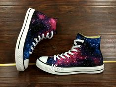 Cheap shoes online on - Eileen - Cheap shoes online on WEN Original Design Galaxy Shoes Galaxy Converse Customize Hand Painted Shoes,Painted Shoes Custom Converse All Star Canvas Shoes - Galaxy Converse, Galaxy Shoes, Converse All Star, Sneakers Mode, Sneakers Fashion, Fashion Shoes, Converse Outfits, Kawaii Shoes, Hand Painted Shoes