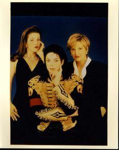 Lisa, Michael & Diane Sawyer