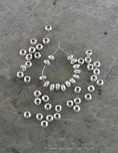 Tibetan Round Décor Spacer Beads by CedarCreekCanada
