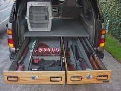 custom chevy suburban | Drawer & Drawer with opening
